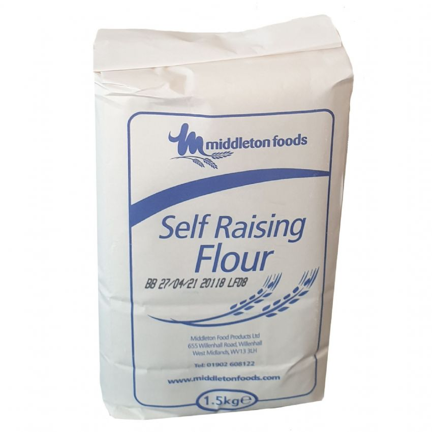 Self Raising Flour Middletons 1.5kg